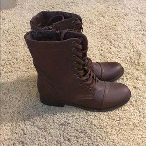 Shoes - NWOT combat boots